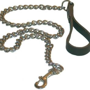 Dog Leash With Chunky Chain