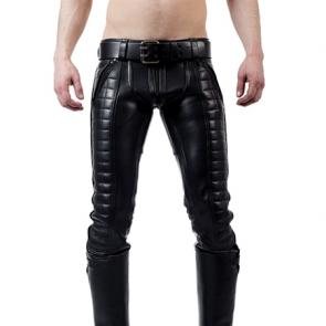 Mister B Leather Indicator Jeans
