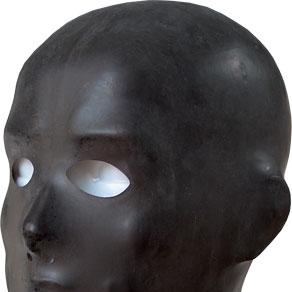 Mister B Anatomical Rubber Hood With Eye and Nose Holes