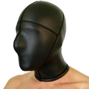 Neoprene Panel Hood With Pinholes Eyes and Mouth