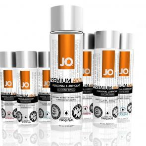 JO Premium Anal Silicone-Based Lubricant Range