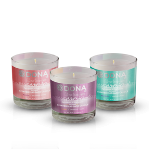 DONA Scented Massage Candle 135g