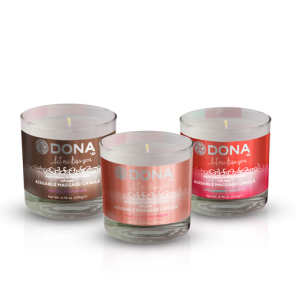 DONA Kissable Massage Candle 135g