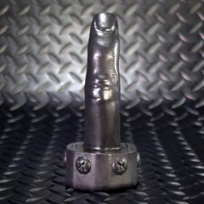 OXBALLS FINGER Realistic Finger Pegger Black