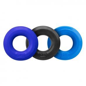 Hunkyjunk HUJ C-Ring 3 pack Cobalt