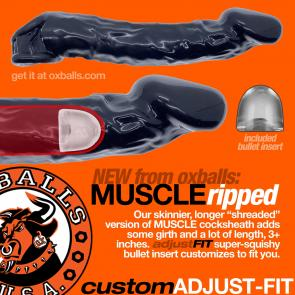 OXBALLS MUSCLE RIPPED Slimmer Cocksheath