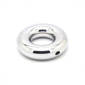 Heavy 316L Stainless Steel Split Ring Ball Stretcher