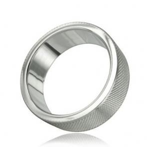 KNURL Stainless Steel Cockring