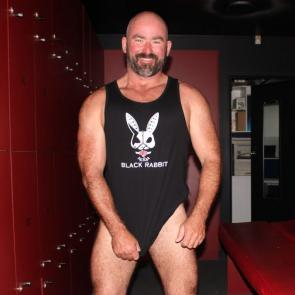Mens Lowdown Singlet worn by Scotty Lovegrove Mr Queensland Leather 2017