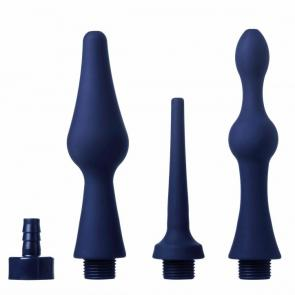 CleanStream Universal 3 Piece Silicone Enema Attachment Set