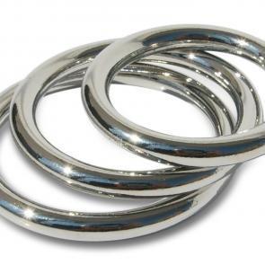 Seamless Metal Cock Ring