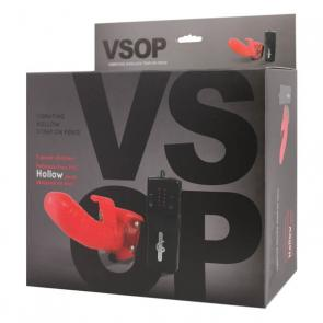 VSOP 5 Speed Vibrating Hollow Strapon