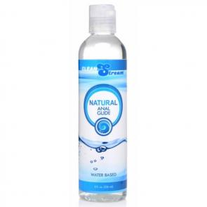 CleanStream Natural Anal Glide Lube 8 oz