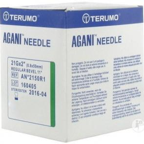 TERUMO Hypodermic Needles 21G X 2 INCH Box/100