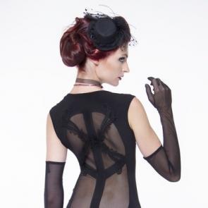 Patrice Catanzaro Black Zirca Dress