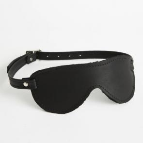 Plush Fur Lined Blindfold Aviator
